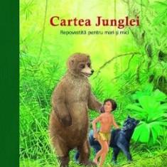 Cartea Junglei repovestita pentru mari si mici - Ulrich Maske, Bernhard Oberdieck - Carte educativa