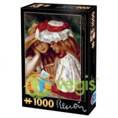 Puzzle 1000 Pierre Auguste Renoir - Deux Jeunes Filles Lisant