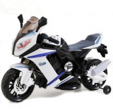 Motocicleta electrica Mood Moto White Black, Moni