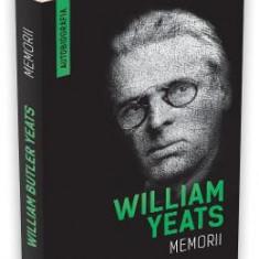 Memorii - William Yeats - Biografie