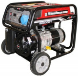 Generator Curent Electric Senci SC6000, 5500W, 230V, AVR inclus, Motor benzina
