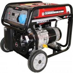 Generator Curent Electric Senci SC6000, 5500W, 230V, AVR inclus, Motor benzina