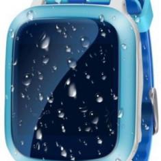 Smartwatch iUni Kid18, 1.44inch, GPS, Bratara silicon (Albastru)