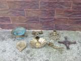 Lot-Sfesnice/Suport lumanare din bronz !!!