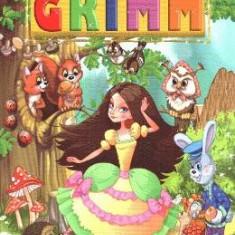 Cele mai frumoase povesti - Fratii Grimm - Carte educativa
