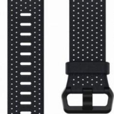 Curea de schimb Fitbit FB164LBNVS, pentru Fitbit Ionic, Marimea S, Piele (Albastru)