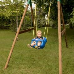 Leagan Little Tikes din lemn