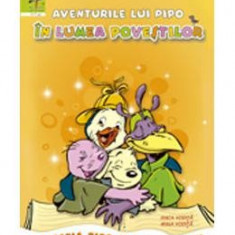 Aventurile lui Pipo in lumea povestilor - Carte educativa