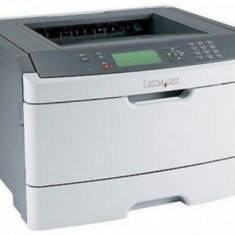 Imprimanta Refurbished laser alb-negru Lexmark E462DN, A4, 40 ppm, Duplex, Retea