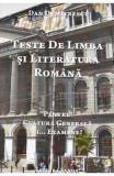 Teste de limba si literatura romana - Dan Dumitrescu