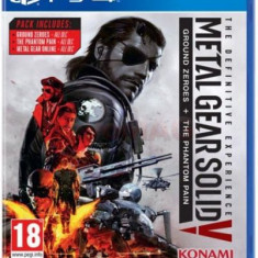 Metal Gear Solid V: The Definitive Experience (PS4) - Jocuri PS4