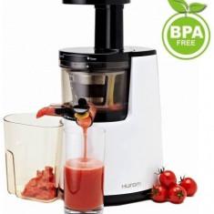 Storcator de fructe si legume Hurom HH-WBE06, 150W (Alb)