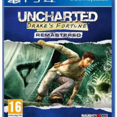 Uncharted: Drake's Fortune (PS4) - Jocuri PS4