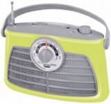 Radio Portabil Vintage Trevi RA 763 (Verde)