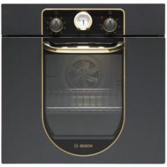 Cuptor incorporabil rustic Bosch HBA23BN61, 62l, 7 Functii, 2480W, Clasa A (Negru)