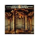"SAINT-SAENS: Symphonie nr. 3 c-moll ""Orgelsymphonie"" ( disc vinil )"
