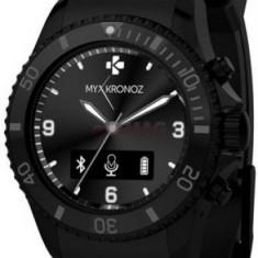 Smartwatch MyKronoz ZeClock, OLED, Bluetooth, Rezistent la apa si praf (Negru)