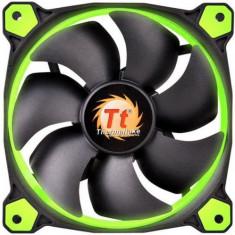 Kit Ventilatoare Thermaltake Riing 12 High Static Pressure, 120mm, 3buc. (Led Verde) - Cooler PC