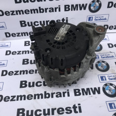 Alternator original 180A BMW E87, E90, E60, X1, X3 318d, 320d, 177cp N47 - Alternator auto, 3 (E90) - [2005 - 2013]