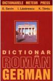 Dictionar roman-german. Ed.2015 - E. Savin