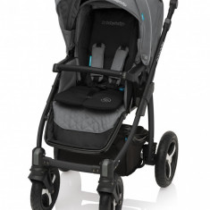 Carucior Multifunctional 2in1 Baby Design Lupo Comfort 07 Graphite 2017 - Carucior copii 2 in 1
