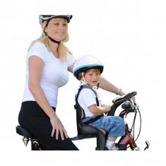 Scaun de bicicleta Deluxe si Casca protectie Flames Roz WeeRide WR03R, Scaune bicicleta