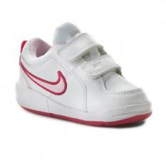 Adidasi Nike Pico 4 Copii-Adidasi Originali 454478-103 - Adidasi copii Nike, Marime: 21, 22, 23.5, 25, 26, 27, Culoare: Din imagine, Unisex, Piele naturala