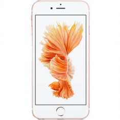 Telefon Mobil Apple iPhone 6S, Procesor Apple A9, IPS LED-backlit Multi‑Touch 4.7inch, 2GB RAM, 128GB flash, 12MP, Wi-Fi, 4G, iOS 9 (Rose Gold) - Telefon iPhone