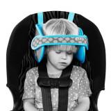 Tetiera NapUp pentru somn confortabil in masina albastru