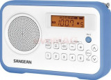Radio Sangean PR-D18 (Alb/Albastru)