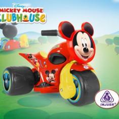 Trimoto electric Injusa Samurai Mickey Clubhouse - Masinuta electrica copii