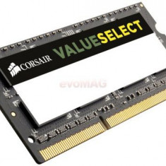 Memorie Laptop Corsair 4096MB 1333MHz ValueSelect - Memorie RAM laptop
