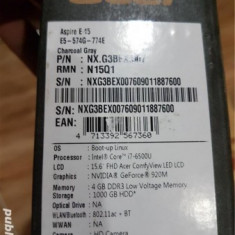 Laptop Acer Aspire Intel Core I7, 1 TB, 15