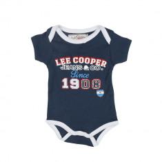 Lee Cooper ? Body bebe Since 1908 navy cu margini albe