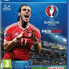 Uefa Euro 2016 And Pro Evolution Soccer (PS4)