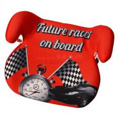 Inaltator auto copii JUJU Jazzy Booster Race JU1200-EC-Racer (Rosu) - Scaun auto copii