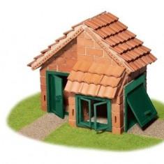 Set constructie Casa cu tigla - 200 piese - Set de constructie TEIFOC