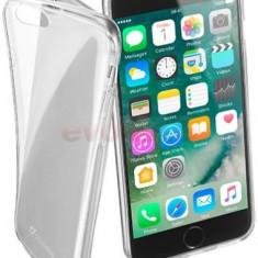Protectie spate Cellularline FINECIPH755T pentru Apple iPhone 7 Plus (Transparent) - Husa Telefon