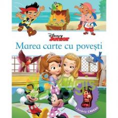 Marea carte cu povesti - Disney Junior + Jucarie Cadou - Carte de povesti
