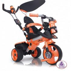 Tricicleta pentru copii Injusa City Orange - Tricicleta copii