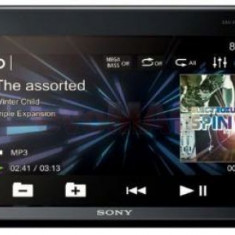 Multimedia Player auto Sony XAVV630BT, 4x55W, DVD, Ecran Tactil 6.2inch, USB, NFC, AUX, Bluetooth (Negru) - CD Player MP3 auto