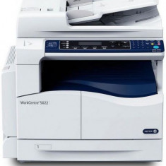 Multifunctional Xerox WorkCentre 5022, A3, 22ppm, DADF, Volum lunar 20000 pagini