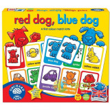 Joc educativ engleza Loto catelusii - Red dog Blue dog