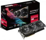 Placa video Asus Radeon Strix RX 580 Gaming OC, 8G, DDR5, 256 bit