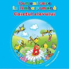 Comunicare in limba romana cls 1 Caiet vol.2 - Gabriela Barbulescu, Daniela Besliu - Manual scolar