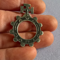 Rozariu inel argint 800 Franta, Degetar