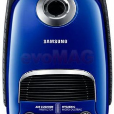 Aspirator cu sac Samsung VC15F60JUVB/GE, 3.5l, 1500W (Albastru-Negru)