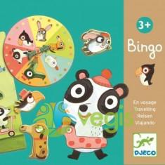 Bingo copii cu animale Djeco