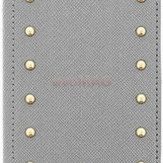 Husa Guess Studded Collection pentru Galaxy S5 (Gri)