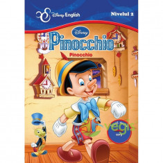 Pinocchio. Pinocchio - Disney english nivelul 2 - Carte de povesti